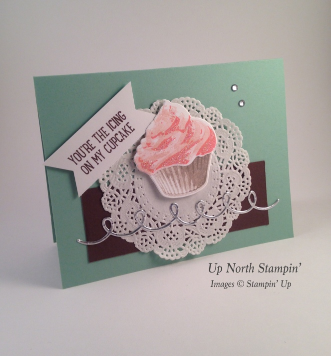 Cupcake Chocolate Mint Up North Stampin Stampin' Up!
