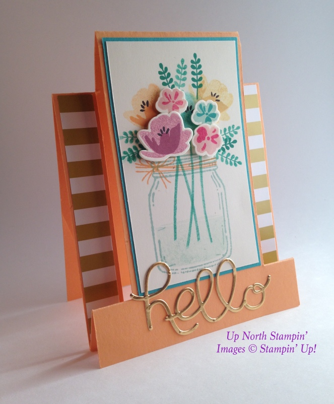 Hello Jar of Love Up North Stampin Stampin' Up!