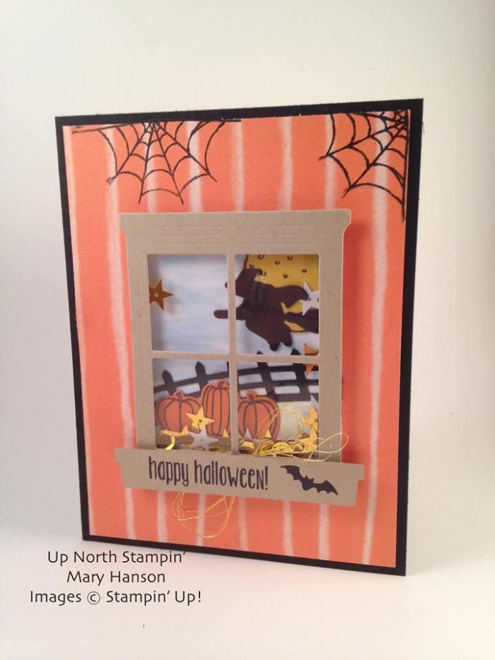 Halloween Scenes Spooky Fun Card