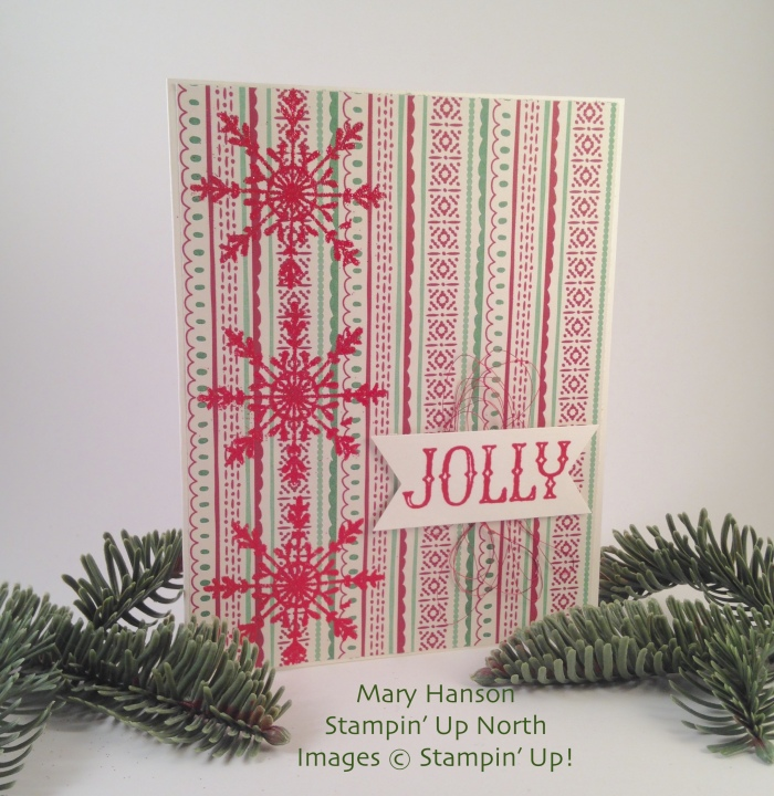 Oh What Fun This Christmas Stampin' Up North Mary Hanson