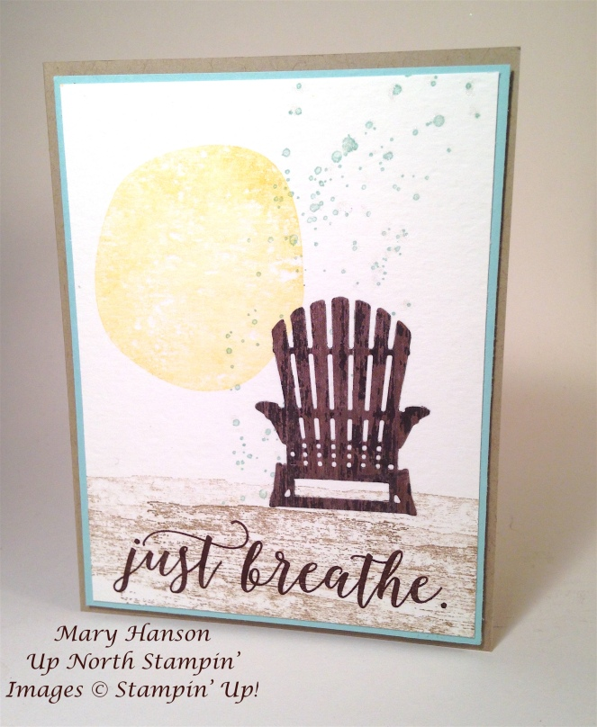 Retirement Colorful Season Mary Hanson Up North Stampin'