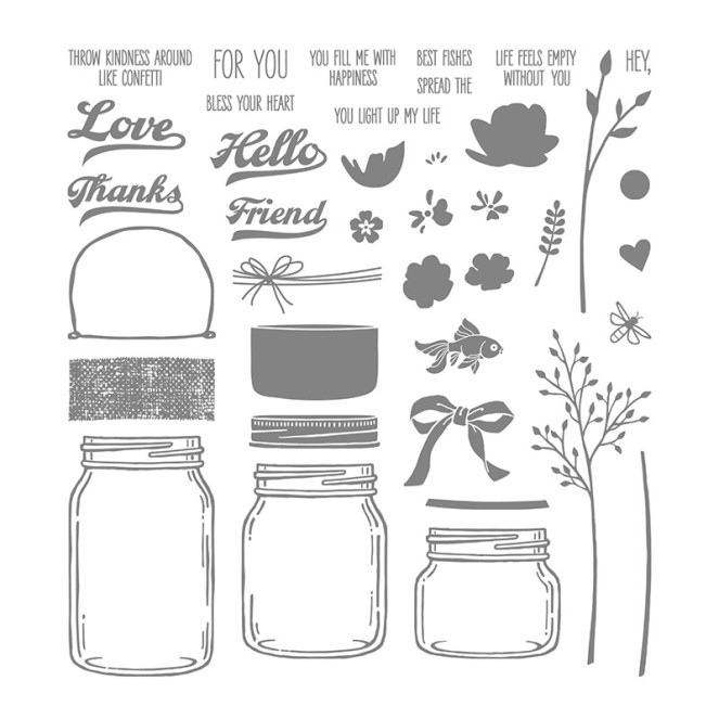 jar of love stamps