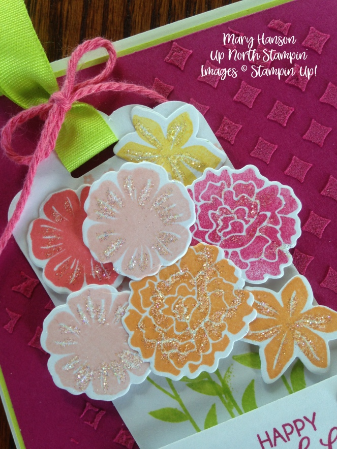 Stampin' Up! Close Up Beautiful Bouquet Bundle Embossing Paste Ideas - Mary Hanson, Up North Stampin' Stampinup