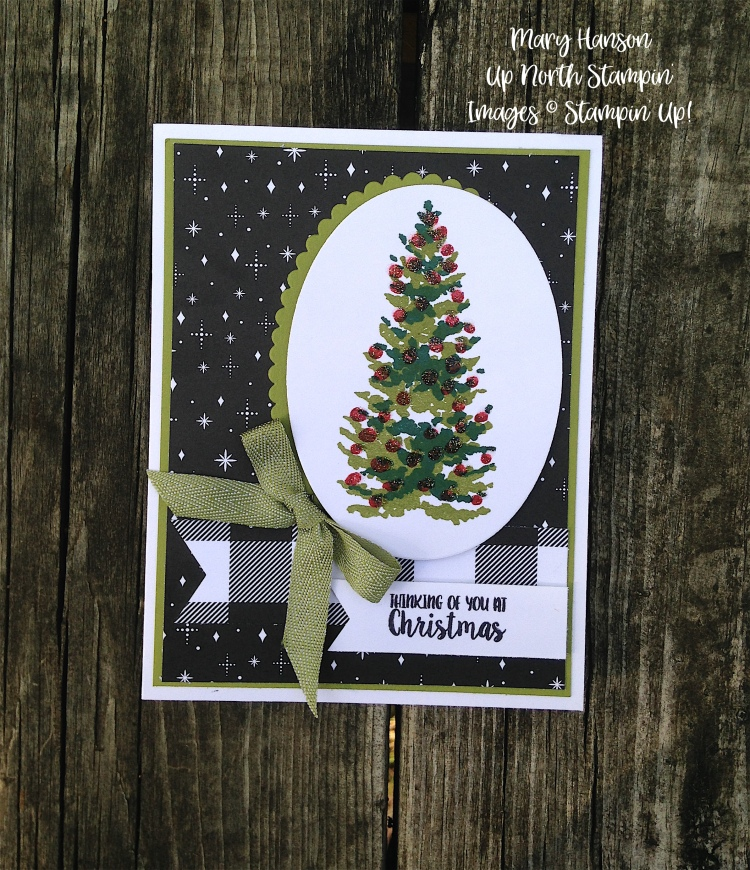 Season Like Christmas 1 - Stampin' Up! - Merry Little Christmas - Up North Stampin' - Mary Hanson