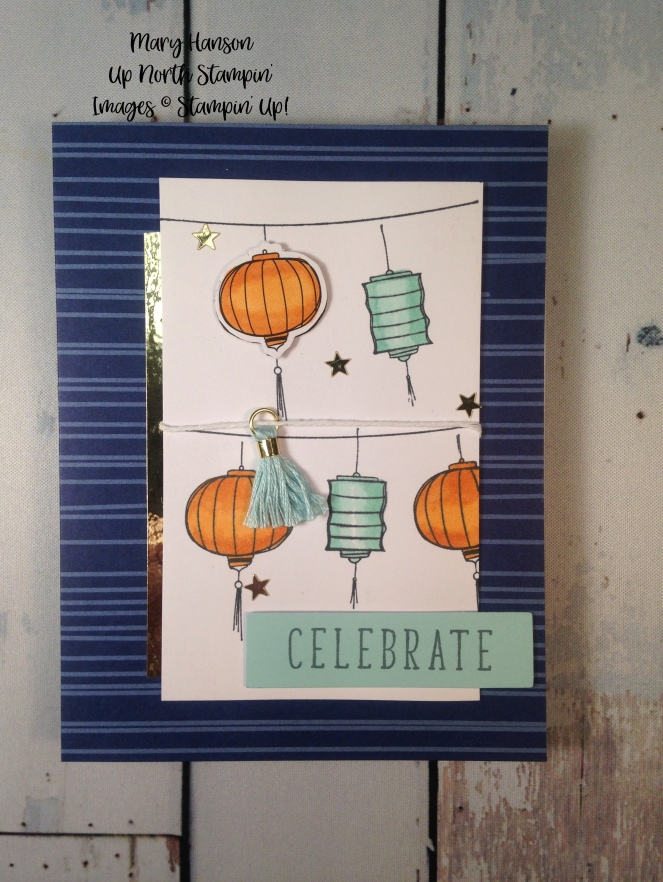 Color Me Happy Kit Lights - Stampin' Up! - Mary Hanson - Up North Stampin'