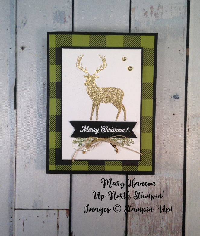 Merry Patterns - Merry Little Christmas DSP - Up North Stampin' - Mary Hanson
