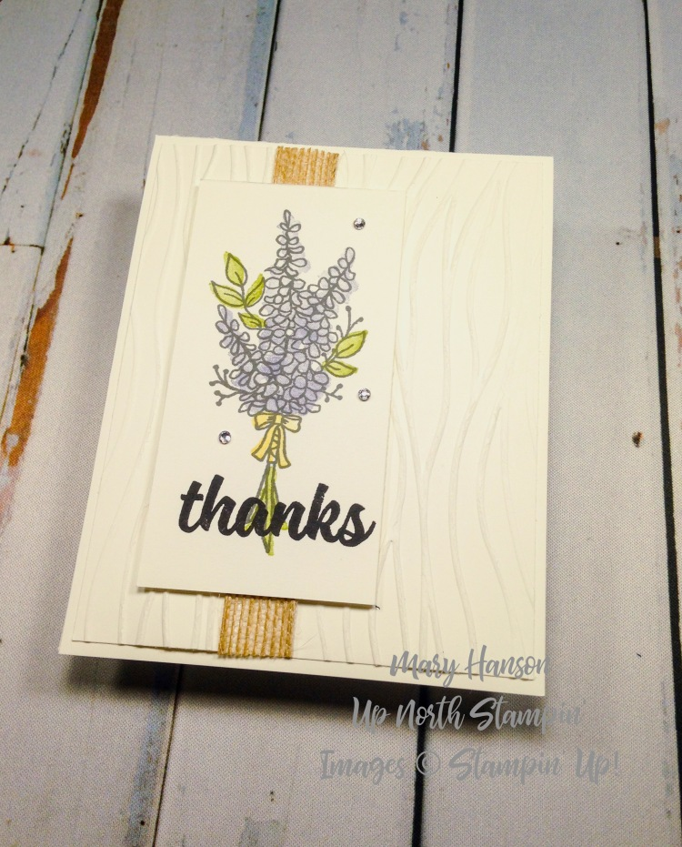 Lots of Lavender 2 - Mary Hanson - Up North Stampin' - Stampin' Up!
