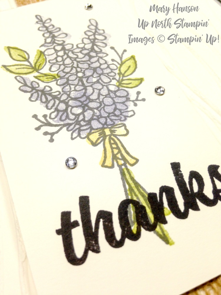 Lots of Lavender Close up - Mary Hanson - Up North Stampin'