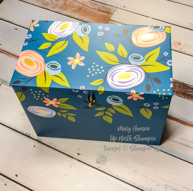 Perennial Birthday Box - Mary Hanson - Up North Stampin' - Stampin' Up!