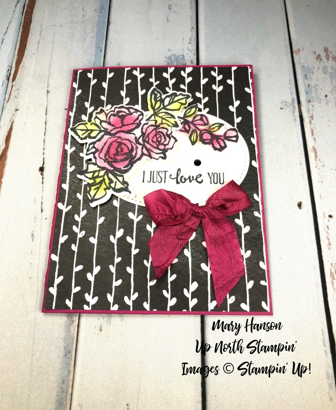 Petal Palette Berry Burst - Mary Hanson - Up North Stampin'
