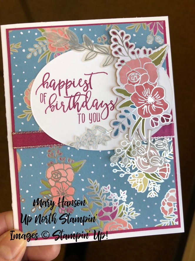 Sweet Soiree Embellishment Kit - Picture Perfect Birthday - Up North Stampin' - Mary Hanson