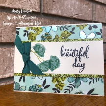 Share What You Love - Beautiful Day - Mary Hanson - Up North Stampin'