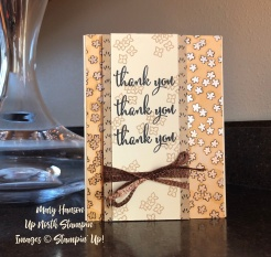 Share What You Love Thank You - Mary Hanson - Stampin' Up!