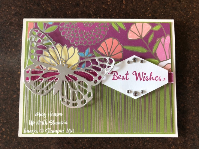 Sweet Soiree Designer Series Paper - Petal Palette - Butterfly Thinlits - Silver Foil - Mary Hanson - Up North Stampin' .jpeg