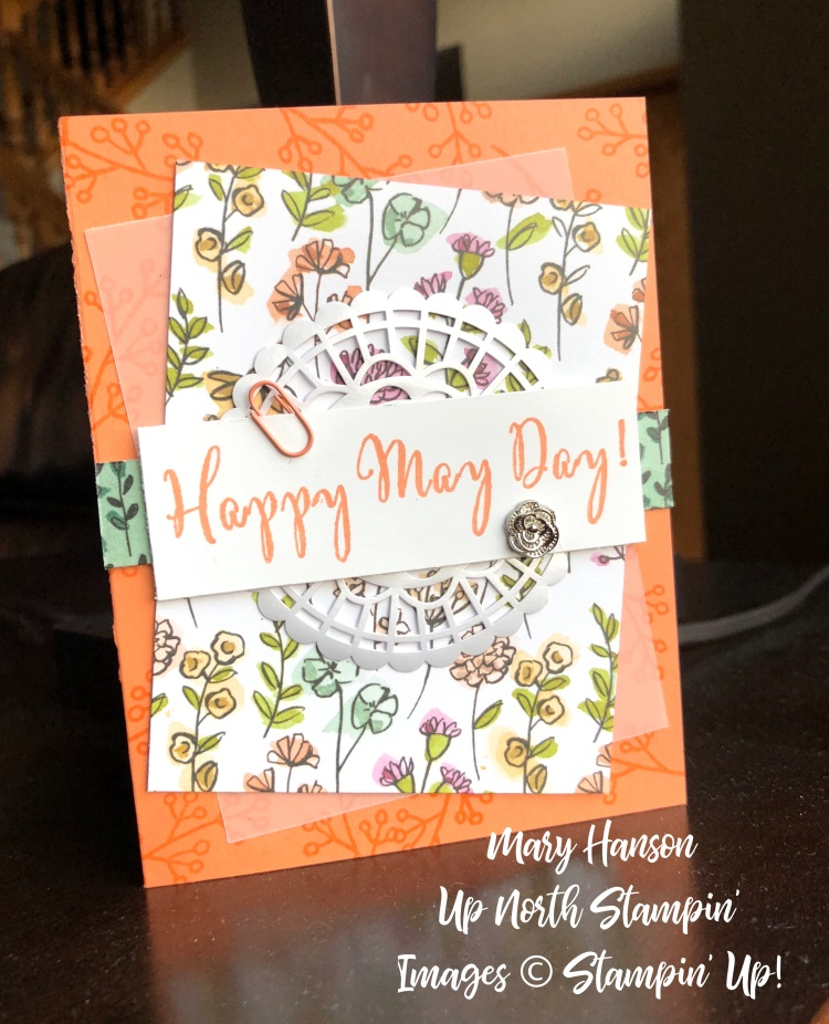 The Happy May Day - Share What You Love - Mary Hason - Up North Stampin'