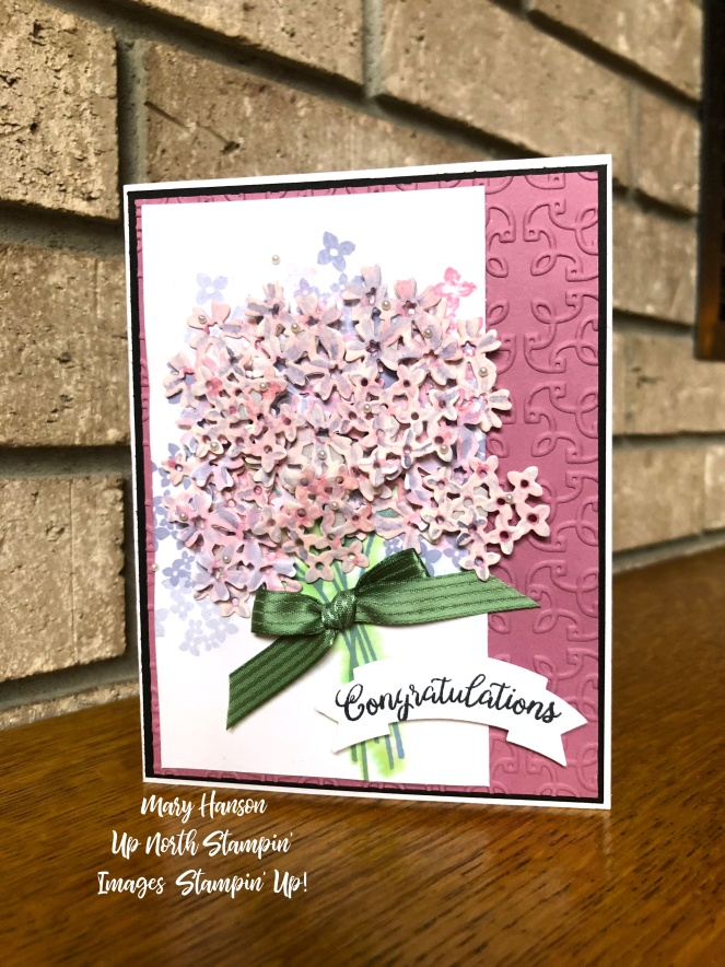Beautiful Bouquet - Fireplace - Mary Hanson - Up North Stampin'