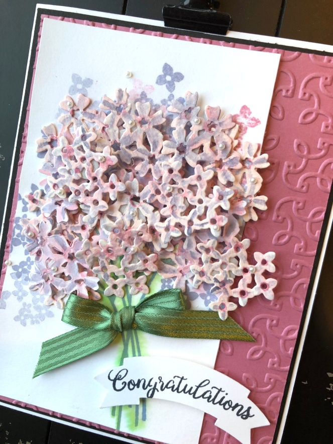 Beautiful Bouquet - The Close - Mary Hanson - Up North Stampin'