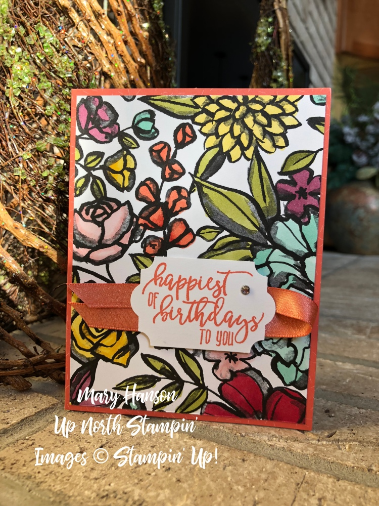 Mary Hanson - Up North Stampin' Palette Paper