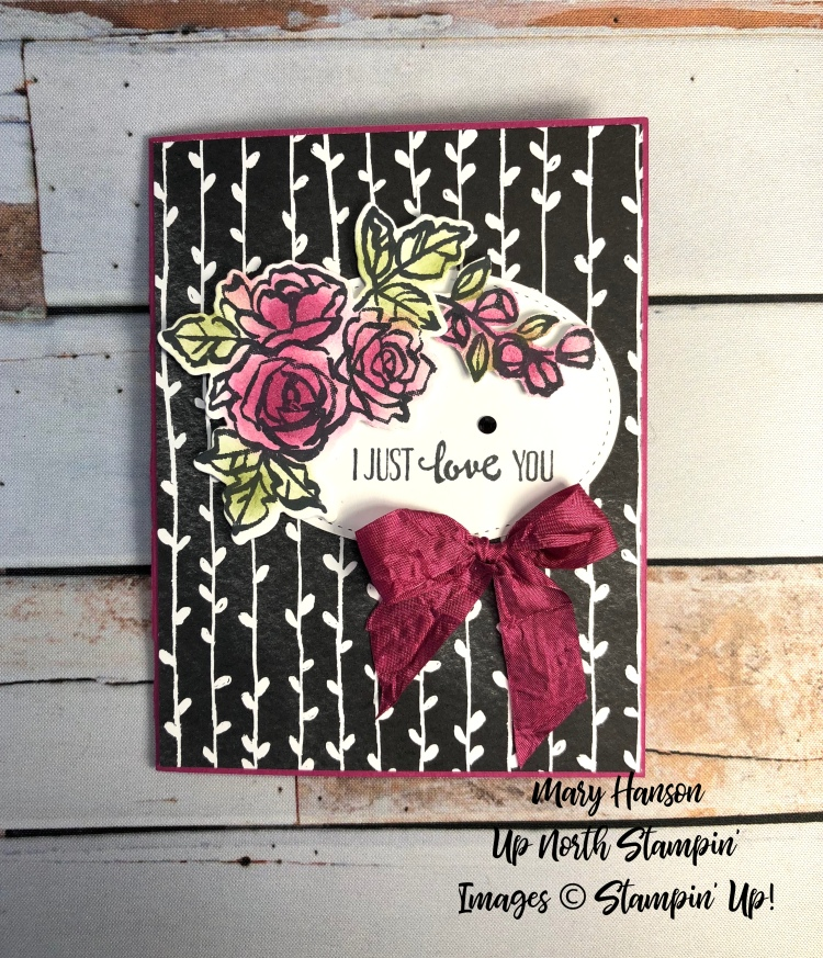 Petal Palette - Berry Burst - Mary Hanson - Up North Stampin' - Stampin' Up!