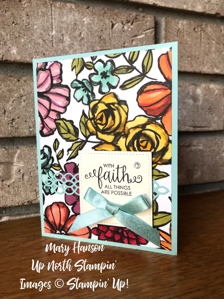 Petal Passion Designer Series Paper - Courage - Mary Hanson - Up North Stampin'
