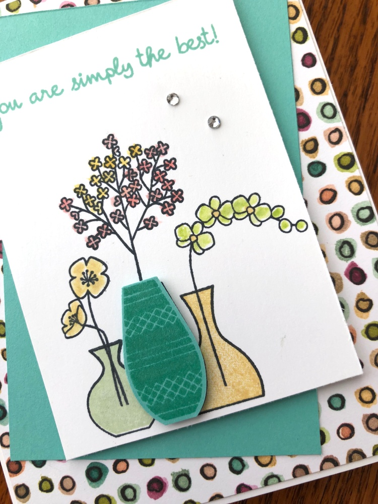Varied Vases - Close Up - Share What You Love - Mary Hanson - Up North Stampin'