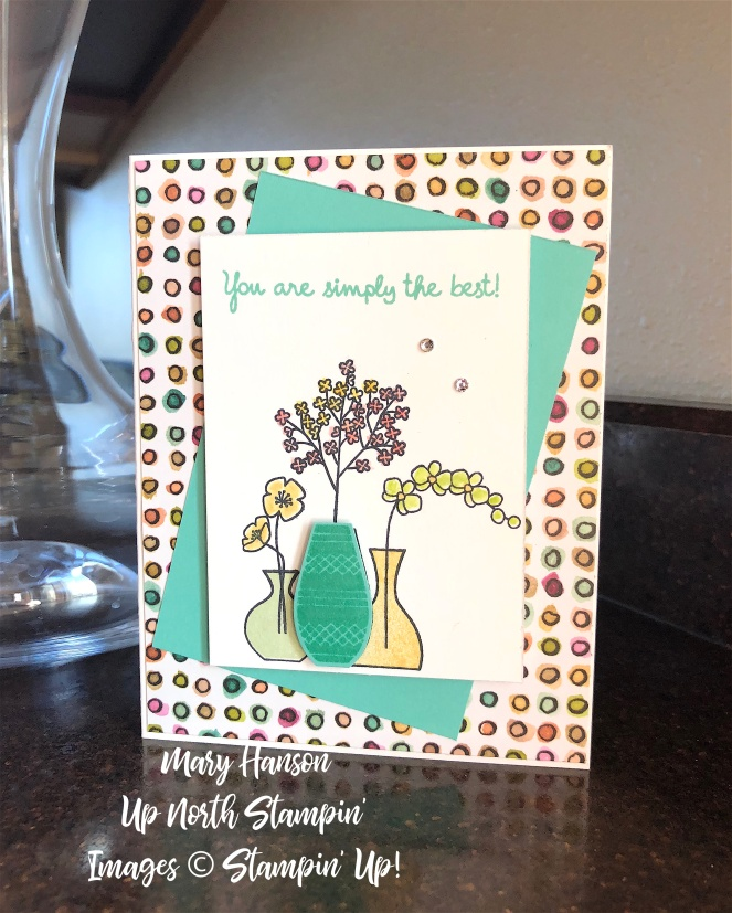 Varied Vases - Share What You Love - Coastal Cabana - Mary Hanson - Up North Stampin'