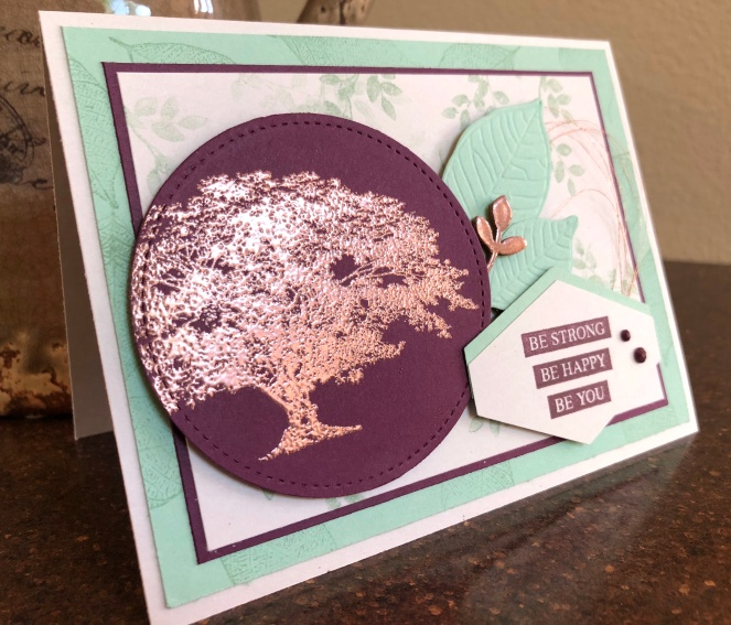 Rooted in Nature Bundle 2 - Mint Macaron - Blackberry Bliss - Copper Embossing Powder - Up North Stampin' - Mary Hanson
