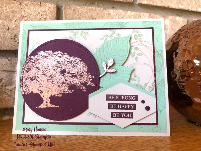 Rooted in Nature - Mary Hanson - Up North Stampin'