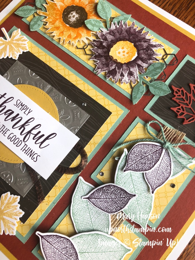 Close up Autumn Sampler 2018 - Mary Hanson - Up North Stampin'