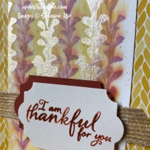 First Frost - Shimmer Paint - Painted Harvest - Country Lane Designer Series Paper - Mary Hanson - Up North Stampin'