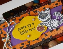 Haloween box Close Up