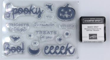 Spooky Stamp Set