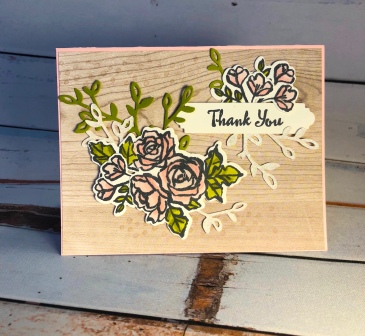 Wood Textures - Petal Palette - Dazzling Diamonds - Up North Stampin' - Mary Hanson - Stampin' Up!
