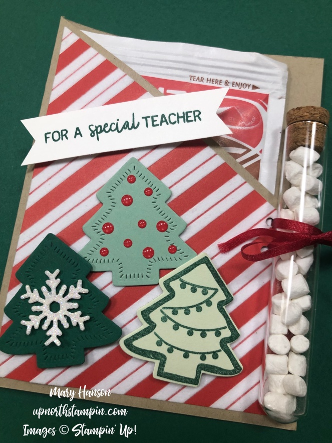 Nothing Sweeter - Santa's Workshop Designer Series Paper - Mary Hanson - Up North Stampin' - Stampin' Up!