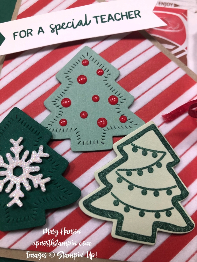 Santa's Workshop Designer Series Paper - Close Up - Nothing Sweeter - Up North Stampin' - Mary Hanson - Stampin' Up!