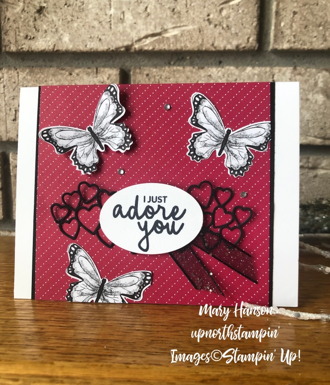 botanical butterflies - meant to be - incredible you - mary hanson - up north stampin'