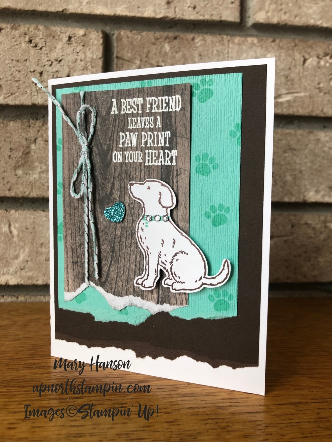 happy tails - coastal cabana - mary hanson - up north stampin'