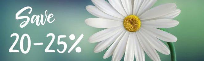 save 20-25%