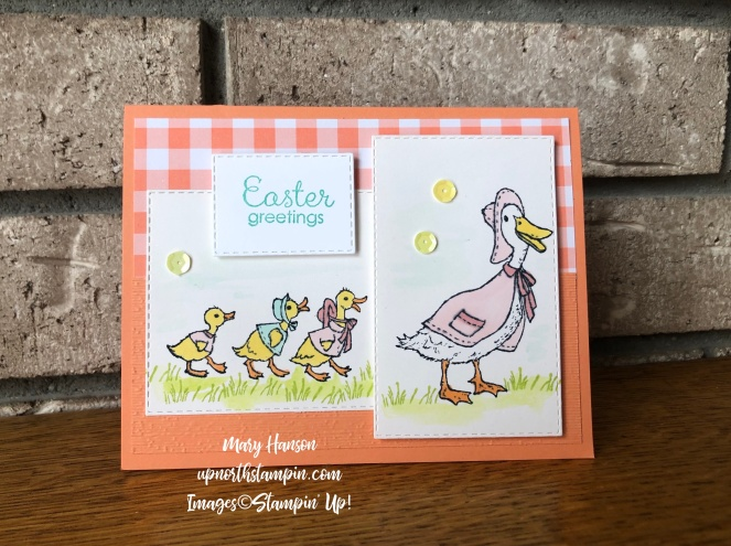 Fable Friends - Duck 2 - Mary Hanson - Up North Stampin'