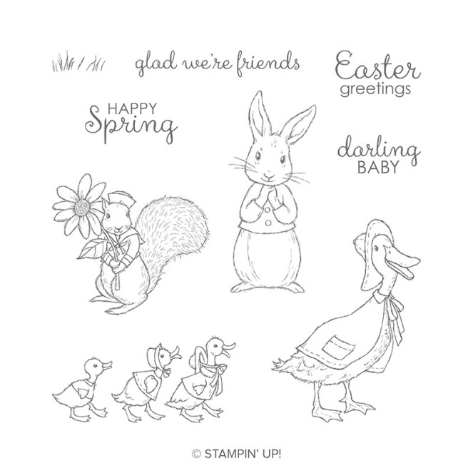 Fable Friends stamp set