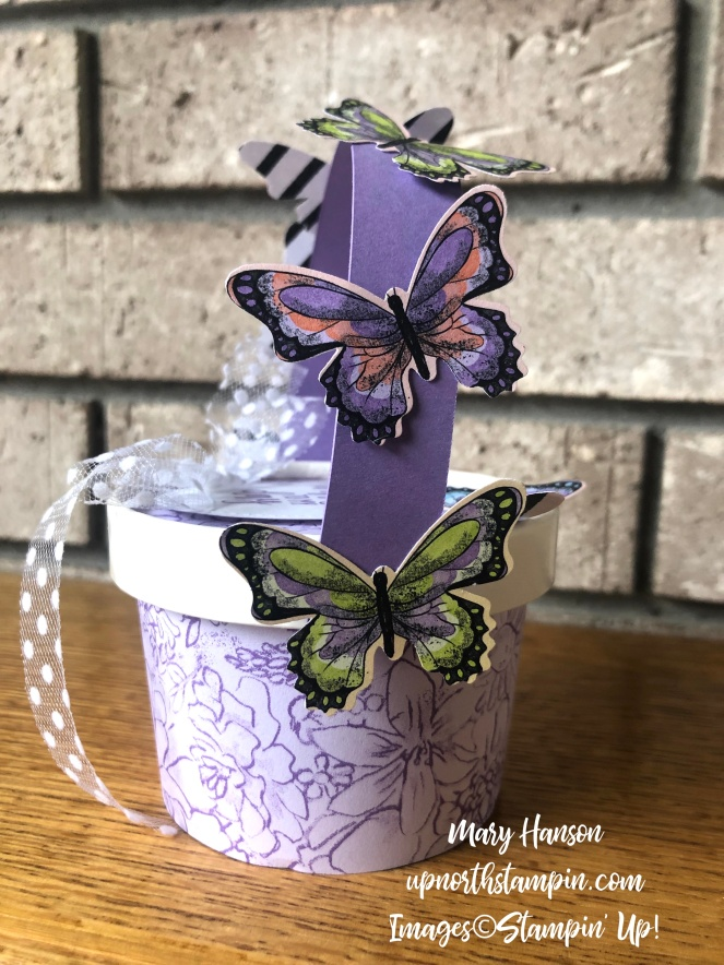 Botanical Butterflies Designer Series Paper - Sweet Cups - Country Home - Mary Hanson - Up North Stampin'