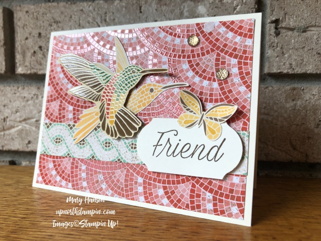 Mosaic Mood Specialty Designer Series Paper - Daisy Lane - Mary Hanson - Up North Stampin' - Stampin' Up!
