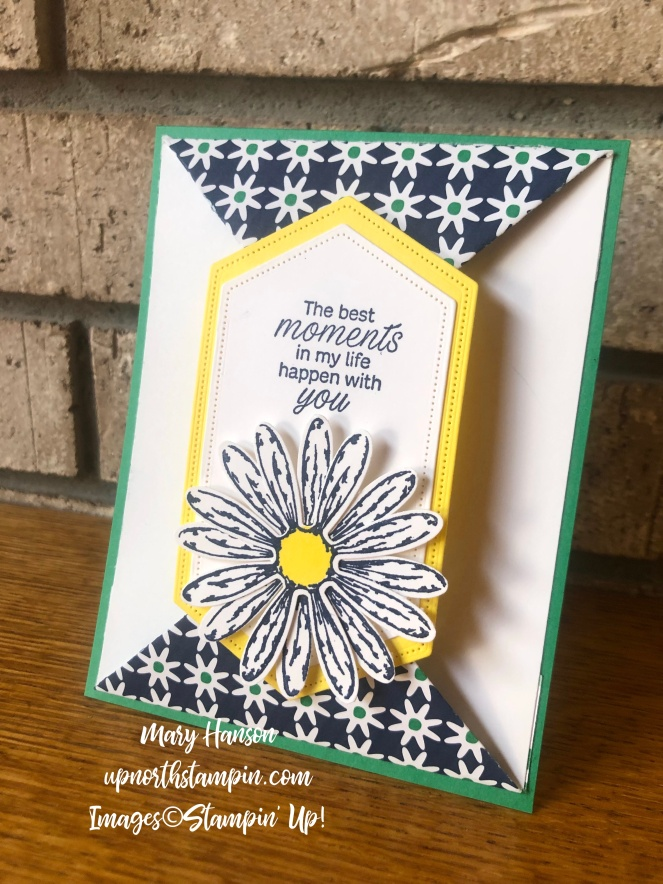 Stitched Nested Framelits Dies - Daisy Lane - Daisy Delight - Happiness Blooms - Mary Hanson - Up North Stampin'