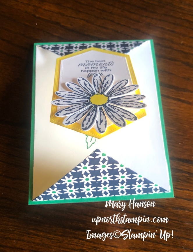 Stitched Nested Framelits Dies - Open - Daisy Lane - Daisy Delight - Happiness Blooms - Mary Hanson - Up North Stampin'