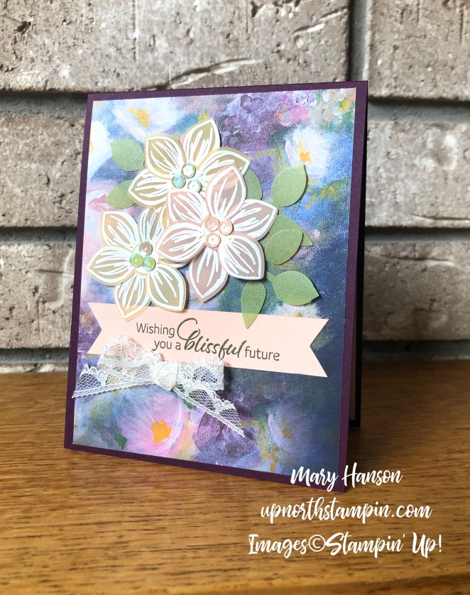 Floral Essence Bundle - Perennial Essence Designer Series Paper- Mary Hanson - Up North Stampin'