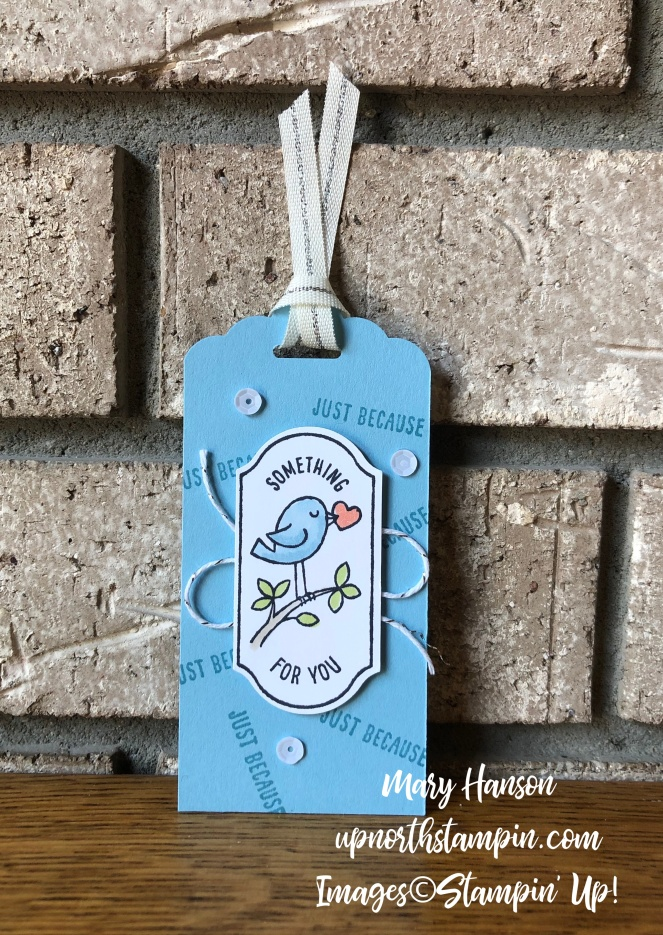 Time for Tags 3 - Timeless Label Punch - Mary Hanson - Up North Stampin' - Stampin' Up!