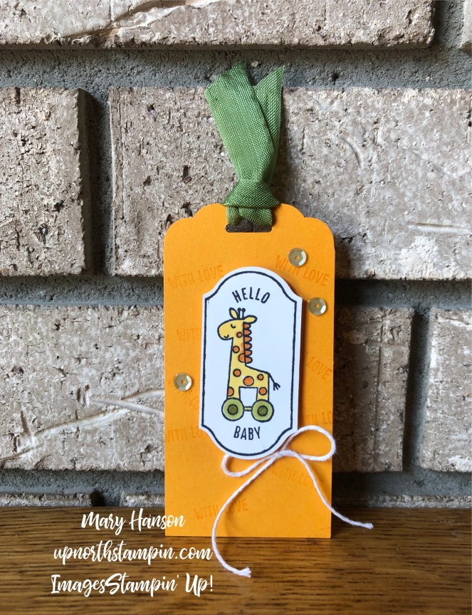 Time for Tags 4 - Timeless Label Punch - Mary Hanson - Up North Stampin' - Stampin' Up!