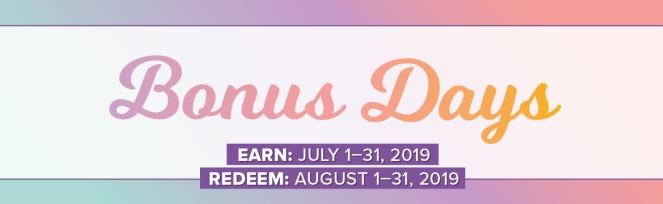 Bonus Days banner