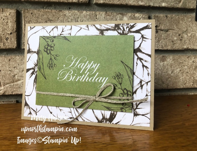 Magnolias and More Memory Pack 10 - Mary Hanson - Up North Stampin' Stampin' Up!
