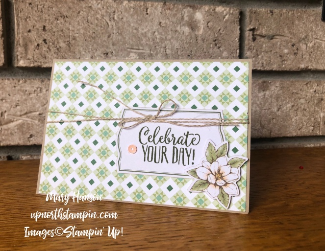 Magnolias and More Memory Pack 3 - Mary Hanson - Up North Stampin' Stampin' Up!